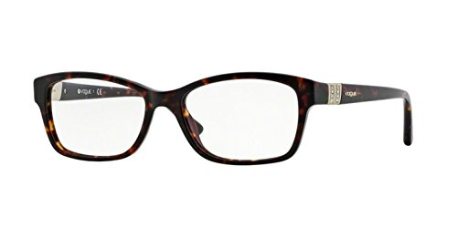 - Vogue VO2765B Eyeglass Frames W656-5116 - Dark Havana VO2765B-W656-51