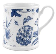Botanic Blue Mug, Tankard 12 Ounces ()
