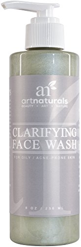 ArtNaturals Clarifying Face Wash - (8 Fl Oz / 236ml) - Deep Cleansing and Exfoliation of Blackheads and Pimples -...