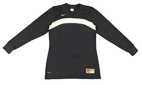 (Nike Womens Dri Fit Elite Defender Long Sleeve Shooting Jersey Shirt (Small, Navy/White))