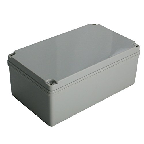 Ogrmar Plastic Dustproof IP65 Junction Box DIY Case Enclosure (10x 6x 4)