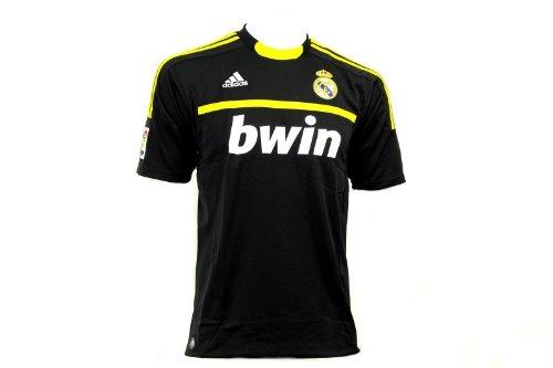 Adidas REAL A GK JSY Camiseta Negro Amarillo Real Madrid Portero para Hombre