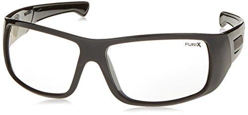 Pyramex SB8580DT Furix Safety Glasses, One Size, Black