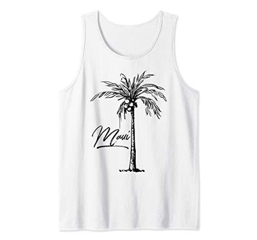 ALOHA Maui Hawaii Palm Tree. Feel the Aloha Spirit Tank Top