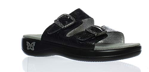 Alegria Womens Jade Slide Sandal Cowgirl Tar Size 35 EU (5-5.5 M US Women)