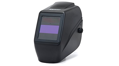 Pyramex WHA200 Lead Head Auto Darkening Welding Helmet with IR 9-13 Sensitivity Adjustment