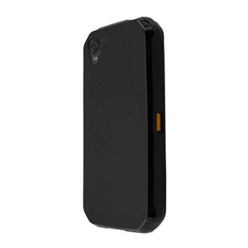 caseroxx TPU-Case for Cat S41, Bag (TPU-Case in Black)
