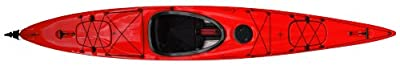 compass140TX-RW Boreal Design Compass 140 TX Kayak, 13.75-Feet, Red/White by Kayak Distribution
