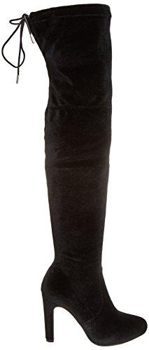 Maria Velvet Negro Bottines Mare Chanty Elastic Femme Noir C35203 rAqrZ