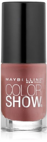 Maybelline New York Color Show Nail Lacquer, Petal Plush, 0.23 Fluid Ounce (Maybelline Nail Enamel)