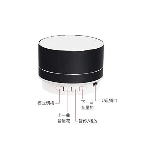 Haut-Parleur Portable Bluetooth étanche Voyage en Plein airHaut-Parleur sans Fil Bluetooth subwoofer de Carte Son d'ordinateur d'ordinateur Rouge 70mmx45mm 3
