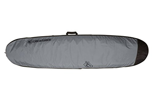 Creatures of Leisure Longboard Lite Bag Charcoal Black 8ft 6in by Creatures of Leisure
