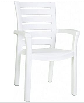 Marina Stacking Dining Arm Chair Set of 4