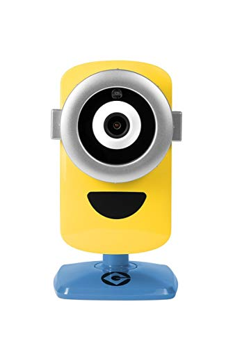 Despicable Me 3 - Minion Cam Hd Wi-Fi Surveillance Camera with Night Vision and 2-Way Talk, Yellow/Blue (MinionCam) (Limited Edition) ()