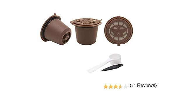 Cápsulas reutilizables recargables para cafeteras Nespresso ...