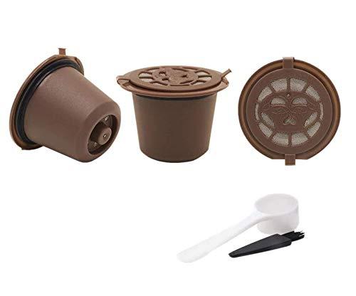 Paide Cápsulas Reutilizables Recargables para cafeteras Nespresso ...