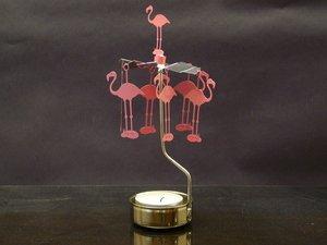 Flamingo Candle Holder (Flamingo Rotary Candleholder)