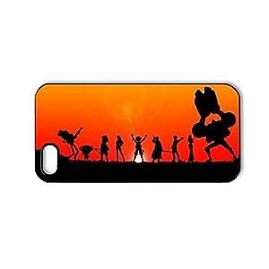 TY-Dibujos animados y Anime patrón de una pieza de plástico duro caso para iPhone 5/5S
