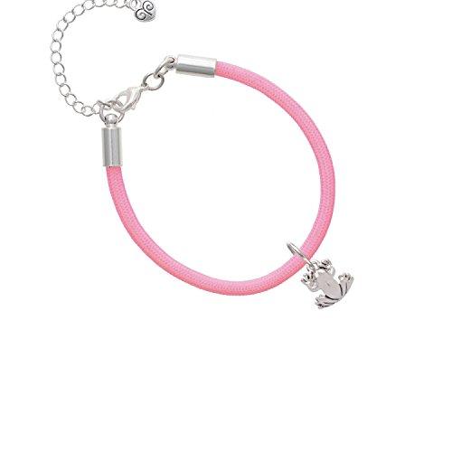 Light Frog Malibu - Small Frog Light Pink Malibu Paracord Bracelet