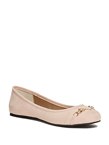 GUESS Factory Women's Genna Logo Flats
