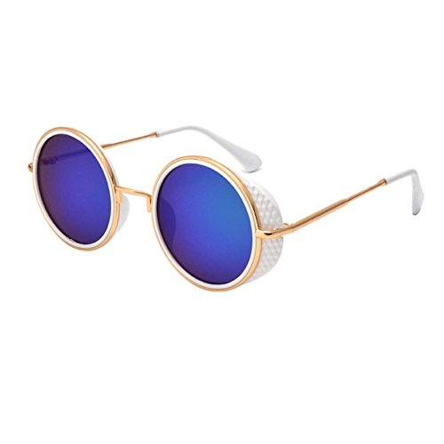 [Smile Tomorrow Lady Retro Rock Style Fashion Classical Personality Sunglasses(K3)] (Morpheus Costumes Sunglasses)