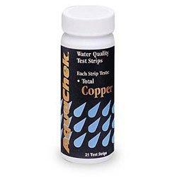 AquaChek Copper Pool Water Test Strips - (25 Count)