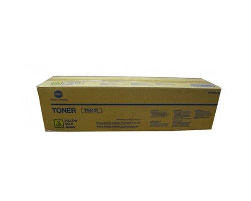 Konica Minolta Part # TN-613Y OEM Yellow Toner Cartridge - 30,000 Pages (A0TM230) ()