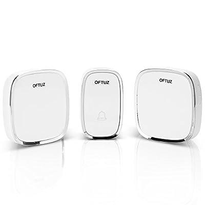 Wireless Waterproof Doorbell 2 Buttons and 1 Receiver