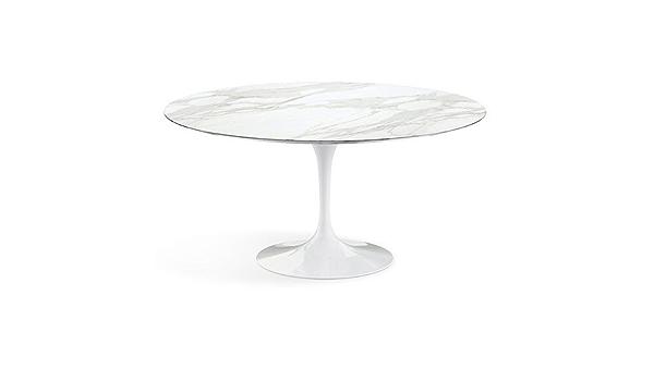 Amazon Com Knoll Saarinen 60 Inch Round Dining Table Tables