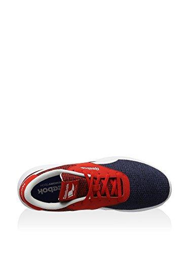 Reebok Royal Ec Ride Fs - Zapatillas de deporte Hombre Azul (Blue Ink / Black / Riot Red / White)