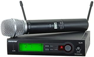 Shure SLX24/SM86 Handheld Wireless System, G4 by Shure