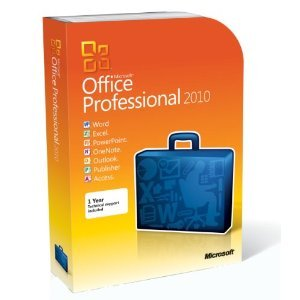 Picture of a Microsoft Office Professional 2010 32 715756500031