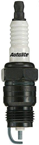 (Set (8pcs) Autolite Copper Core Spark Plugs Resistor Tapered Seat 18mm x 1.50 Thread 5125)