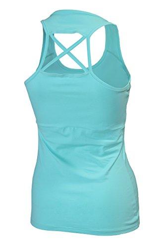 Naffta Fitness Camiseta Tirantes, Mujer: Amazon.es: Deportes y aire libre
