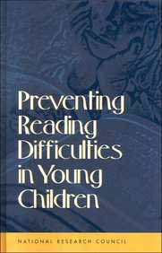Download Preventing Reading Difficulties in Young Children pdf