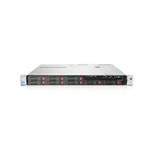 HP ProLiant DL360p Gen8 1U RackMount 64-bit Server with 2×6-Core E5-2640 Xeon 2.5GHz CPUs + 64GB PC3-10600R RAM + 8×300GB 10K SAS SFF HDD, P420i RAID, 4×GigaBit NIC, 2×Power Supplies, NO OS (Renewed)