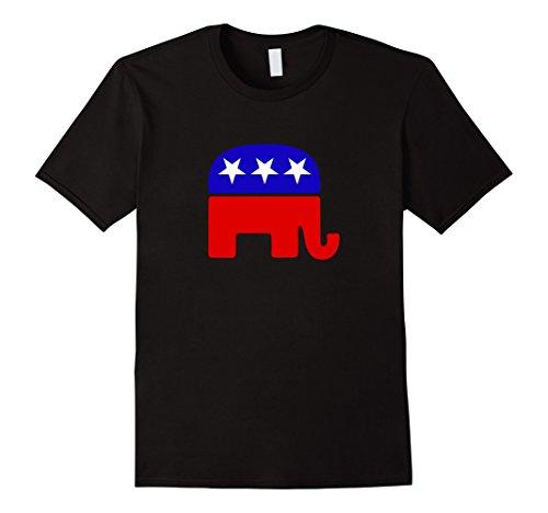 Mens GOP Republican Elephant T-Shirt XL (Gop Republican Elephant)