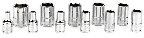 Powerbuilt 640497 1/4-Inch Drive SAE Socket Set, 11-Piece (Sae Sockets compare prices)
