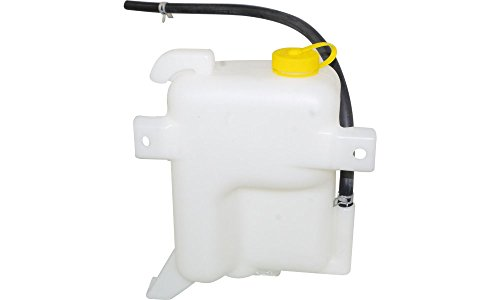 Pickup 86 87 88 Car (Evan-Fischer EVA11872045720 New Direct Fit Coolant Reservoir Expansion Tank for Nissan Pickup 86-94 Pathfinder 87-95 Assembly Plastic With cap and hose Replaces Partslink# NI3014111)