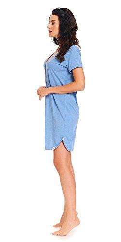 notte da dn Donna nightwear Blau Indumenti wEYqOSt