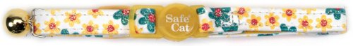 Flower Frenzy Safety Cat Collar - 1