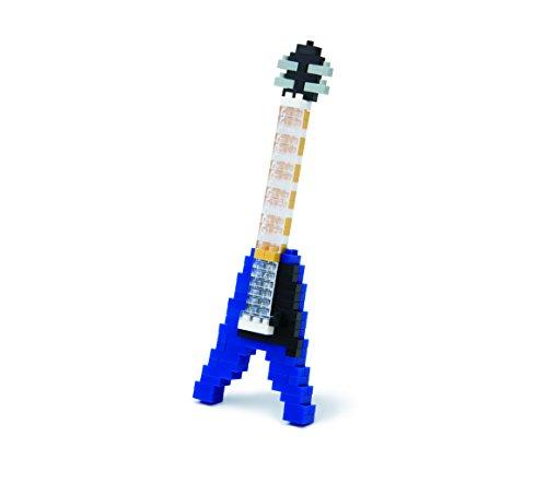 Nanoblock 58183 Electric Guitar Blue