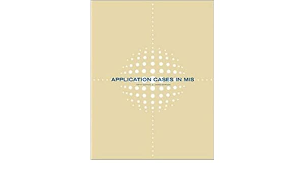 Amazon application cases in management information systems amazon application cases in management information systems 9780072933635 james morgan books fandeluxe Gallery
