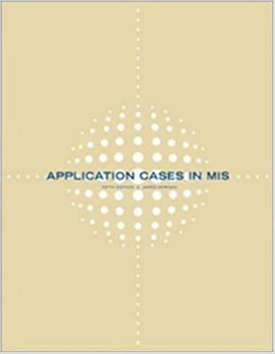 Amazon application cases in management information systems application cases in management information systems 5th edition fandeluxe Gallery