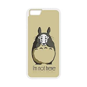 iphone6 4.7 inch case , My Neighbor Totoro Cell phone case White for iphone6 4.7 inch - LLKK0743511