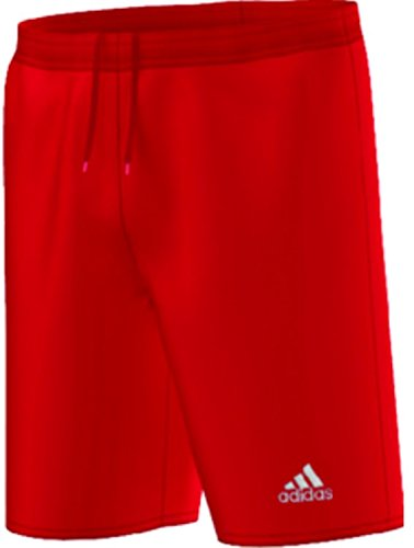 adidas Youth Parma 16 Shorts, Power Red/White, Medium (Red Soccer Shorts)