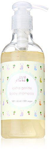 Natural Baby Shampoo by 100% Pure, Extra Gentle, 8.79 oz