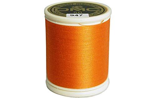 - DMC 237A-50947 Cotton Embroidery Thread 50WT 547Yds Burnt Orange