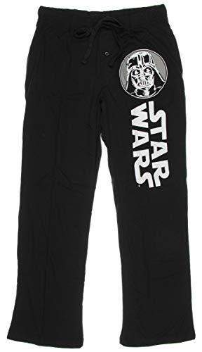 Star Wars Darth Vader Mens Lounge Pants, Black,