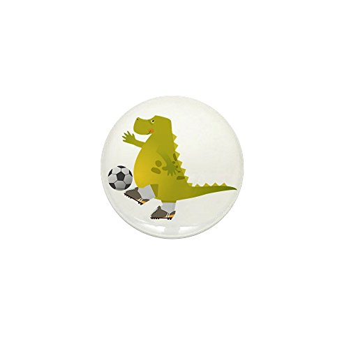 Button Football Mini - Mini Button Dinosaur Playing Soccer